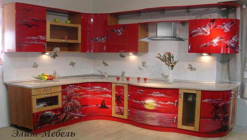 кухонная фотопечать