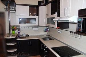 недорогая встроенная кухня