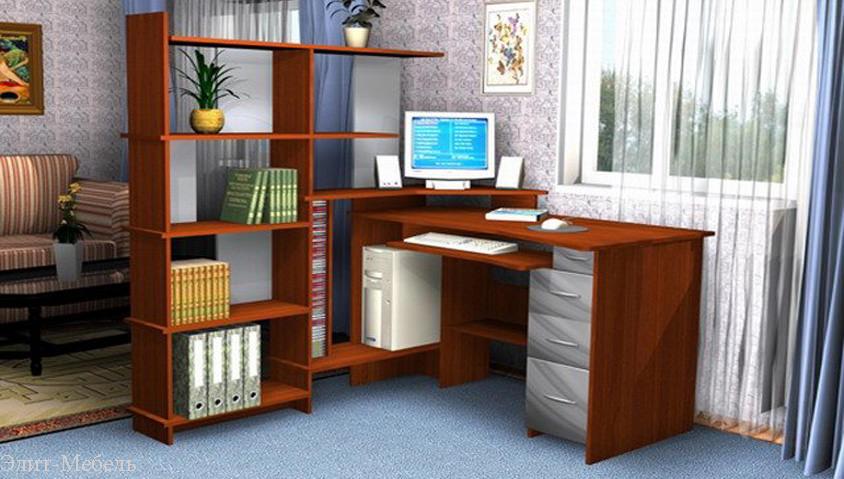 компьютерный стол углом