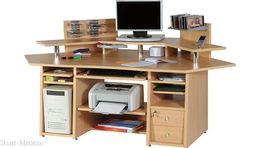 компьютерный стол собрать