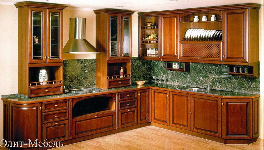 кухни из массива ясеня