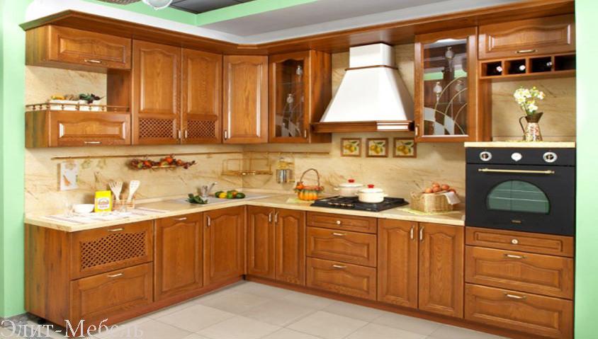 кухни из массива в Ростове