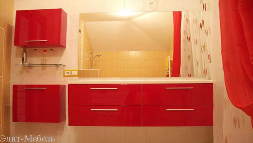 мебель в ванной под заказ